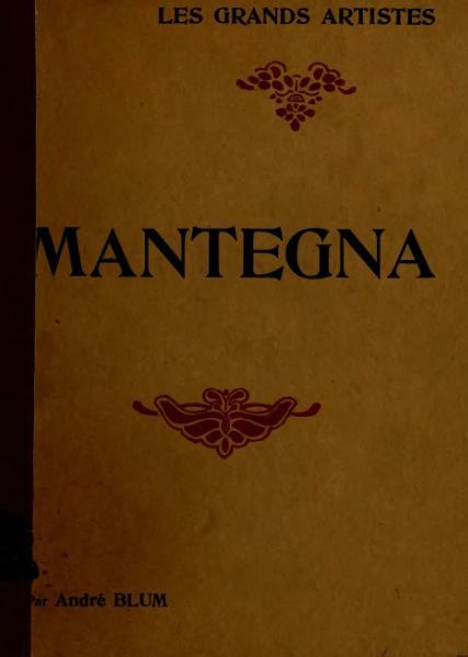 File:Blum - Mantegna, Laurens.djvu