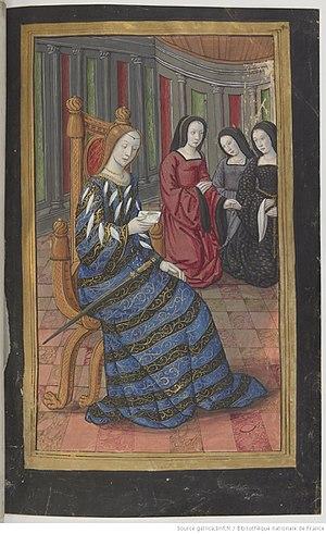 Canace - Image: Bn F Français 874 fol. 40r