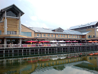 Lakeside Shopping Centre - 'The Boardwalk' on opening day - 14 June 2007.