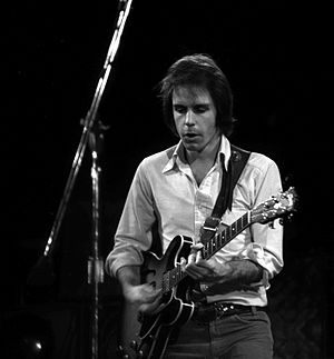 Bob Weir - Weir performing with Kingfish, in 1975. Photo: David Gans