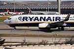 Boeing 737-8AS Ryanair EI-DLV (8738353990).jpg