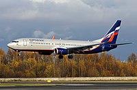 VP-BRF - B738 - Aeroflot
