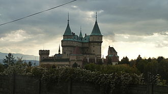 """Fantaghirò series - """"The Black Witch's castle"""" in 2012"""