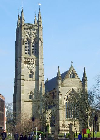 St Peter's Church, Bolton - Image: Bolton Parish Church 2007