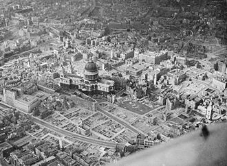 Bombsite - Bomb damage to the City of London in 1945