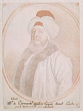 1675 in France - Claude Alexandre de Bonneval as Humbaracı Ahmet Paşa