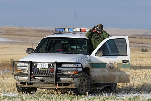 """""""Border Patrol in Montana"""" by Gerald L. Nino, CBP, U.S. Dept. of Homeland Security - https://www.cbp.gov/xp/cgov/newsroom/photo_gallery/afc/bp/37.xml (file Cbp037.jpg). Licensed under Public domain via Wikimedia Commons - https://commons.wikimedia.org/wiki/File:Border_Patrol_in_Montana.jpg#mediaviewer/File:Border_Patrol_in_Montana.jpg"""