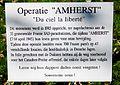 Bordje met de beschrijving van operatie Amherst.jpg