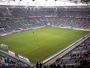 Mönchengladbach - Borussia-Park is the stadium of Bundesliga club Borussia Mönchengladbach