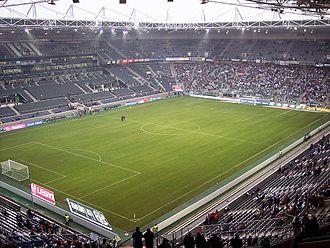 Mönchengladbach - Borussia-Park is the stadium of Bundesliga club Borussia Mönchengladbach