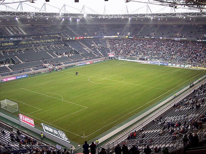 Borussia Park Mönchengladbach - Bild Wikipedia