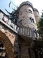 Bory Castle. Flag Tower. Shields with coats of arms - 54, Máriavölgy Rd., Öreghegy, Székesfehérvár, Fejér county, Hungary.JPG