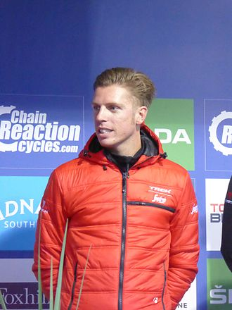 Boy van Poppel - Van Poppel at the 2016 Tour of Britain.