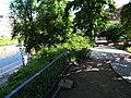 Brühlsche Terrasse - Brühlscher Garten Dresden Flut 5. Juni 2013.jpg