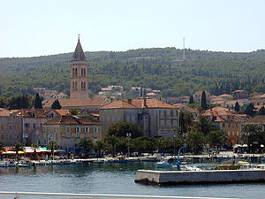 Brač - Supetar harbour