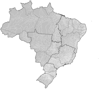 Municipalities of Brazil - Municipalities of Brazil by state