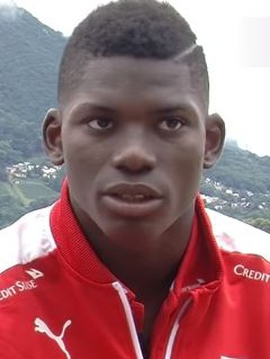 Breel Embolo - Embolo with Switzerland in 2016