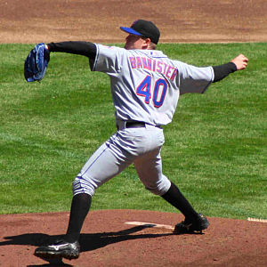 Brian Bannister - Bannister pitching for the New York Mets in 2006