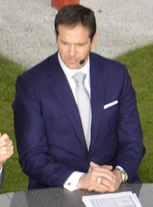 Description de l'image Brian Griese 2013.jpg.