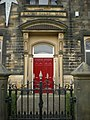 Brierfield Baptist Church, Doorway - geograph.org.uk - 1121420.jpg