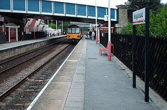 Brighouse railway station - Platform 1