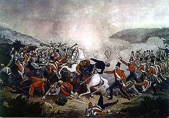 George Cathcart - General Cathcart death at Inkerman