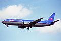British Midland Airways Boeing 737-400; G-OBMN@LHR;04.04.1997 (5491356027).jpg