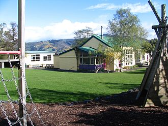 Broad Bay, New Zealand - Broad Bay School in 2007