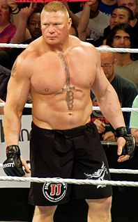 Brock Lesnar American professional wrestler, MMA fighter, and football player