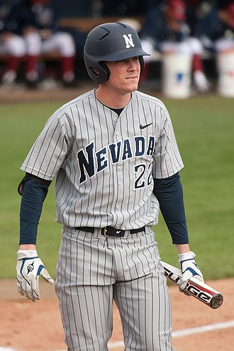 Brock Stassi - Stassi with the Nevada Wolf Pack in 2011