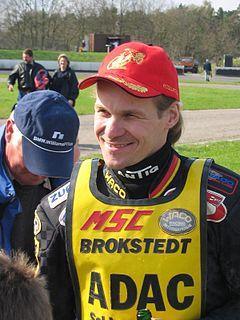 Matthias Kröger German speedway rider