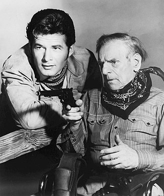 "Hollywood and the Stars - Broncho Billy Anderson, star of early Western films and Gary Clarke of television's The Virginian in ""They Went That-A-Way"""
