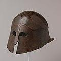 Bronze helmet of South Italian-Corinthian type MET DP105645.jpg