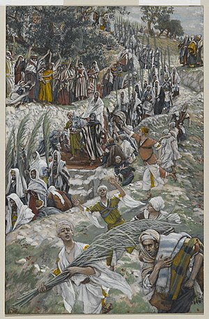 The Procession on the Mount of Olives