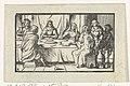 Bruiloft te Kana Voorstellingen uit het Nieuwe Testament (serietitel), RP-P-BI-4587.jpg