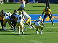 Bruins on offense at UCLA at Cal 2010-10-09 42.JPG