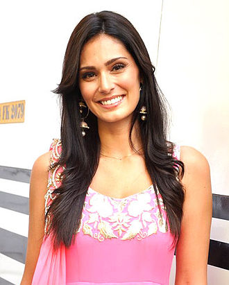 Bruna Abdullah - Abdullah promoting the film Jai Ho.