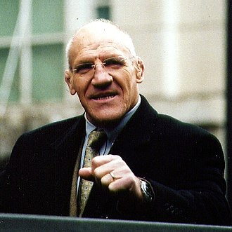 Bruno Sammartino - Bruno Sammartino at Celebrate the Season Parade in Pittsburgh, 2005
