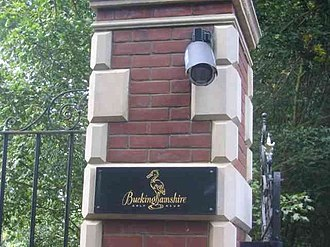 Buckinghamshire Golf Club - Buckinghamshire Golf Club sign