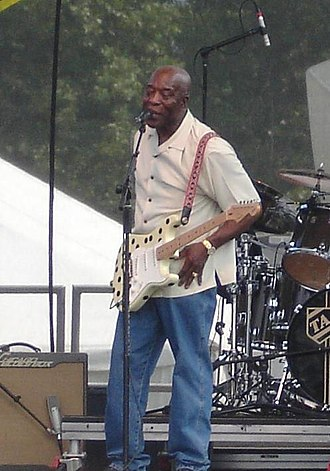 Chicago blues - Guitarist Buddy Guy performing at the Bonnaroo Music Festival in 2006.