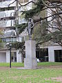 Buenos Aires - Palermo - Homenaje a Martín Miguel de Güemes en Plaza Chile.JPG