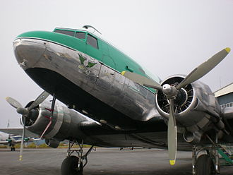 "Buffalo Airways - The first DC-3 bought by ""Buffalo Joe"""