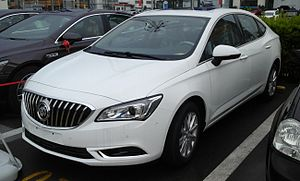 SAIC-GM - Image: Buick Verano II sedan 3 China 2016 04 16