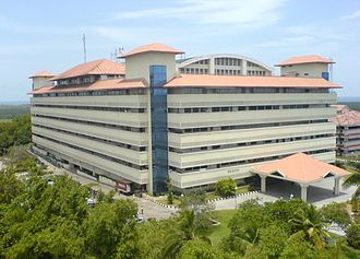 UST Global - Bhavani building which hosts UST Global office in Technopark, Thiruvananthapuram