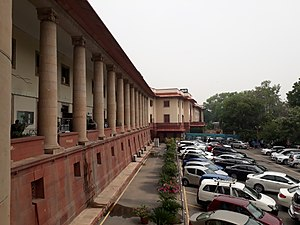 Supreme Court of India - Left side of the Supreme Court building