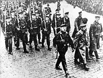 Weimar Republic - The rebellion, November 1918.