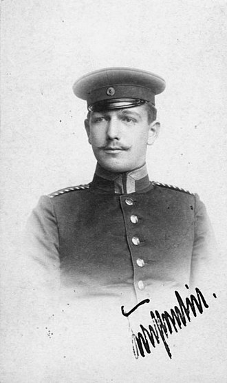 Konstantin von Neurath - Konstantin von Neurath during his military service, 1893