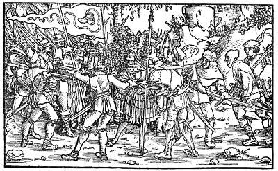Bundschuhfahne Holzschnitt 1539 Petrarcas Trostspiegel.jpg