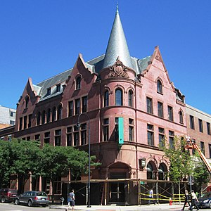 City Hall Park Historic District - The Burlington Savings Bank Building