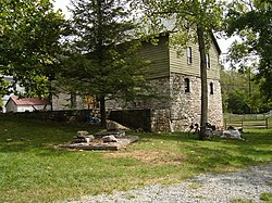 The Burwell-Morgan Mill in September 2005[1]